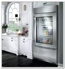 glass door residential refrigerator medium size