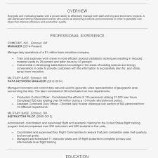 Resume Complete Example Of A Chronological Resume