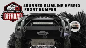 Southern Style Off Road Slimline Hybrid Front Bumper by ...