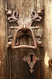 old door handle by nickistock