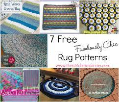 fabulously chic crochet rugs the stitchin mommy best of crochet monkey rug pattern