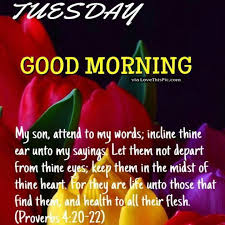 Good Morning Religious Quotes Best of Tuesday Good Morning Blessings Religious Quote Pictures Photos And