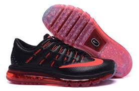 nike running shoes 2016 red. nike air max 2016 black red running shoe shoes t