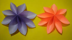 Paper Flower Craft Ideas Diy Paper Flower For Kids Easy Paper Flower Craft Ideas