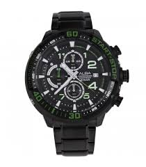 alba mens watch alba mens black green watch am3101x1 am3101x
