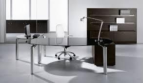 glass home office desk. Modern Glass Office Desk Home H