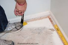 How to Install FLOR Carpet Tiles craft room makeover} How to