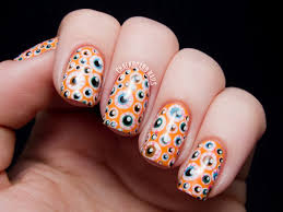 Halloween ~ Best Halloween Nail Art Designs Fashioncraze Eyeballs ...