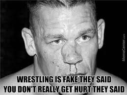 Wrestlings Fake Memes. Best Collection of Funny Wrestlings Fake ... via Relatably.com