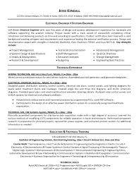 Electrical Engineer Resume 13 Engineering Cv Objective Builder 6B90bk6T
