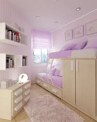 bedroom designs for girls with bunk beds. Bed With Flowery Cheerful Design For Makeovering Girls Bedroom Decorating Ideas : Endearing Purple Theme Using Walnut Frame Bunk Designs Beds