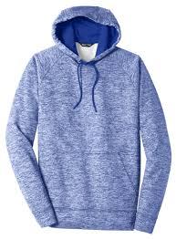 Adult Sport Tek Posicharge Electric Heather Fleece Hooded Pullover