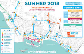 summer 2018 trolley service
