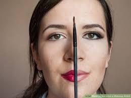 image led bee a makeup artist step 2