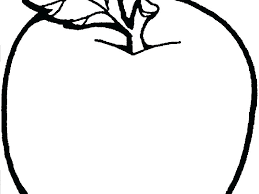 Coloring Page Of An Apple Apple Coloring Page Apple Coloring Pages