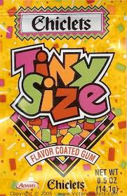 Chicklets Tiny Size gum | candy store | Pinterest | My mom, For ...