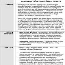 Sample Resume Production Planning Engineer