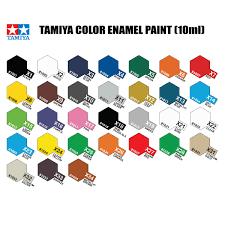 Tamiya Paint Chart Tamiya Paint Color Chart