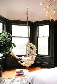 how to hang a hammock chair indoors get creative with indoor hanging chairs urban for the