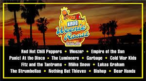 Weenie Roast 2017 Seating Chart Anthony Kiedis To Perform At Kroq Weenie Roast In May