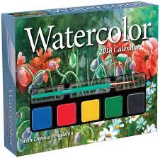 Watercolor 2018 Day-to-Day Calendar: Pendleton, Dennis ...