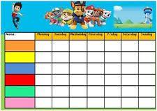 Paw Patrol Behavior Chart Free Www Bedowntowndaytona Com