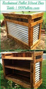 how to build a pallet bar low cost pallet wood creations wood pallet bar wood pallets