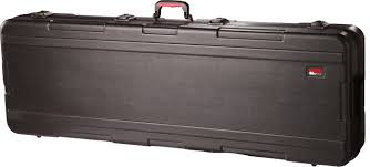 Gator Hard Case For 61 Notes Keyboard Case W/wheels