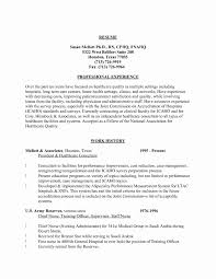 Free Nursing Resume Templates New Collection Solutions Example