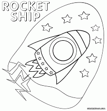 Small Picture Download Coloring Pages Rocket Ship Coloring Page Rocket Ship