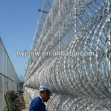 barbed wire fence prison. Prison Barbed Wire Fence