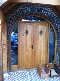 OAK DOUBLE FRONT DOOR - The West Sussex Antique Timber Company Limited