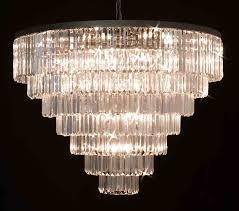 retro palladium empress crystal tm glass fringe 7 tier chandelier com