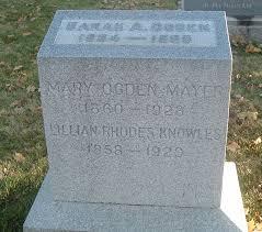 Lillian Rhodes Knowles (1858-1929) - Find A Grave Memorial