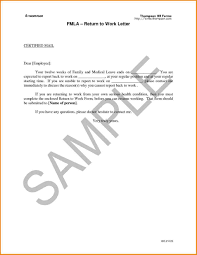 Going Back To Work After Maternity Leave Letter Template Write