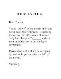 Sample Letter To Tenant For Late Payment Google Search Sawgrass