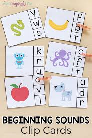By using the bingobonic free phonics worksheets, esl/efl students will quickly learn and master the following: Alphabet Beginning Sounds Clip Cards