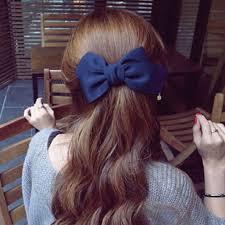 1Pc Fashion Girls <b>Headwear</b> Ribbon <b>Bow Hair</b> Clips For <b>Women</b> ...