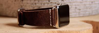 brown meridio band for apple watch