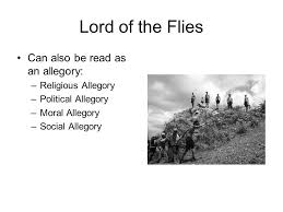 allegory english ii academic allegory allegory a specific type  5 lord of the flies can also be as an allegory religious allegory political allegory moral allegory social allegory