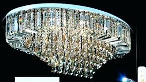 oval crystal chandelier chandeliers see larger image contemporary regarding cassiel drop black 30