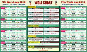 World Cup Fixture Chart 66 Eye Catching Newspaper World Cup Wall Chart 2019