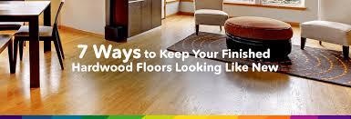 Ways To Keep Hardwood Floors Looking New