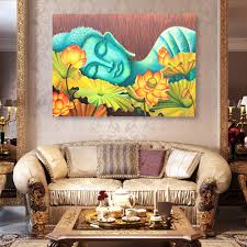 famous lord buddha sleeping wall art l