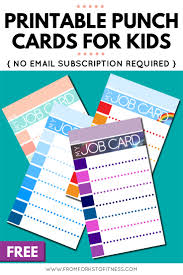 Free Punch Cards Template Free Printable Punch Card Template Mult Igry Com