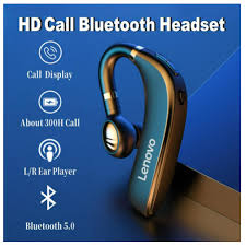 <b>Lenovo</b> - <b>HX106</b> Ear Hook Business Bluetooth <b>Wireless</b> ...
