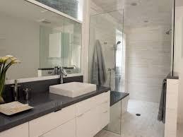 modern white bathroom. Modern White Bathroom People | HGTV