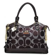 Coach Legacy Pinnacle Lowell In Signature Large Coffee Satchels ADV,coach  wallet sale,coach