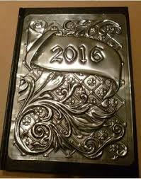 2018 flourish design diary cover by pewter concepts beautiful
