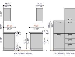 Standard Height For Kitchen Cabinets Cool Inspiration Design